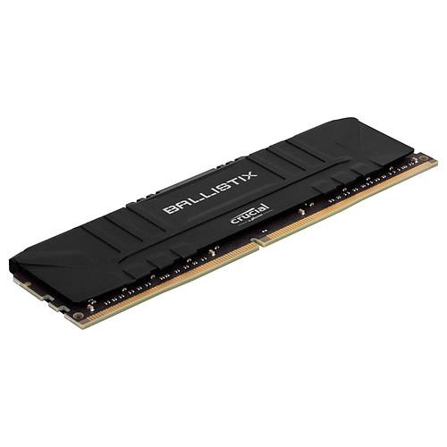 Ballistix Black 16 Go (2 x 8 Go) DDR4 2666 MHz CL16 pas cher