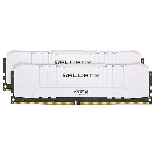 Ballistix White 16 Go (2 x 8 Go) DDR4 2666 MHz CL16 pas cher