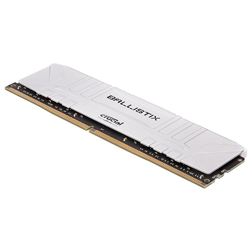 Ballistix White 16 Go (2 x 8 Go) DDR4 3200 MHz CL16 pas cher