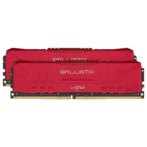Ballistix Red 16 Go (2 x 8 Go) DDR4 3200 MHz CL16 pas cher