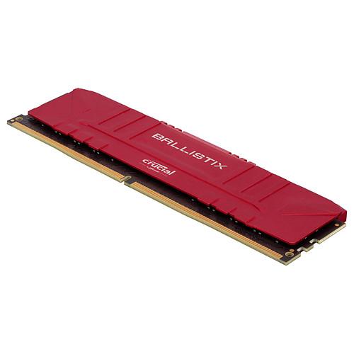 Ballistix Red 64 Go (2 x 32 Go) DDR4 3200 MHz CL16 pas cher