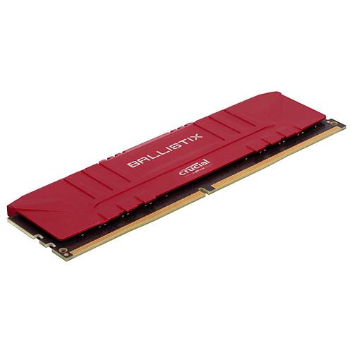 Ballistix Red 16 Go (2 x 8 Go) DDR4 2666 MHz CL16 pas cher