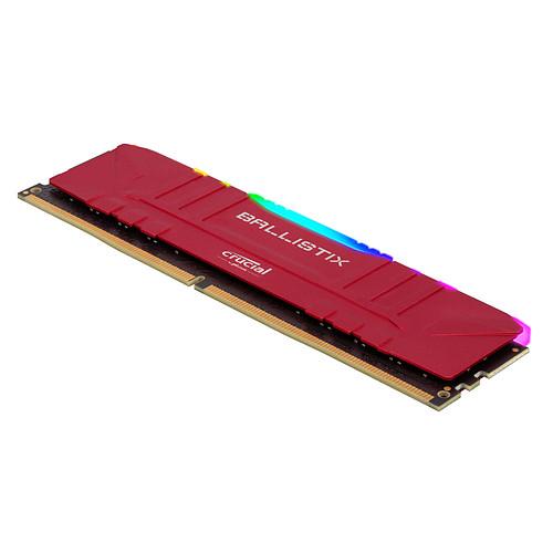 Ballistix Red RGB DDR4 16 Go (2 x 8 Go) 3000 MHz CL15 pas cher