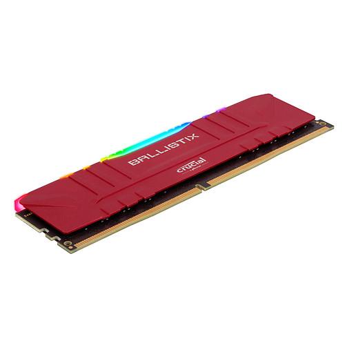 Ballistix Red RGB DDR4 16 Go (2 x 8 Go) 3200 MHz CL16 pas cher