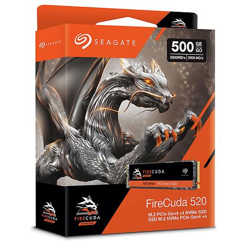 Seagate SSD FireCuda 510 M.2 PCIe NVMe 500 Go pas cher
