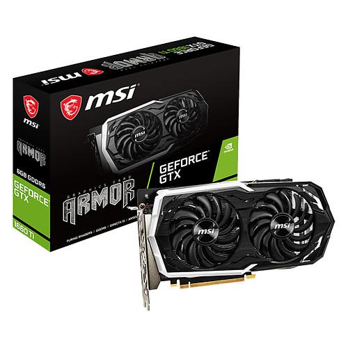 MSI GeForce GTX 1660 Ti ARMOR 6G pas cher