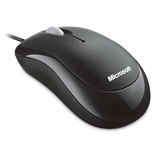 Microsoft Basic Optical Mouse Noir pas cher