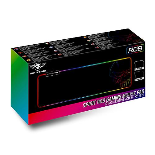 Spirit of Gamer Skull RGB Gaming Mouse Pad XXL pas cher