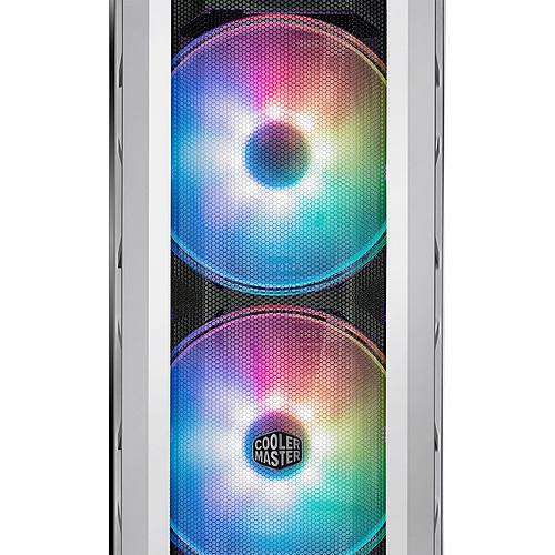 Cooler Master MasterCase H500P Mesh White ARGB Edition pas cher