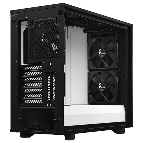 Fractal Design Define 7 TG Clear Noir/Blanc pas cher