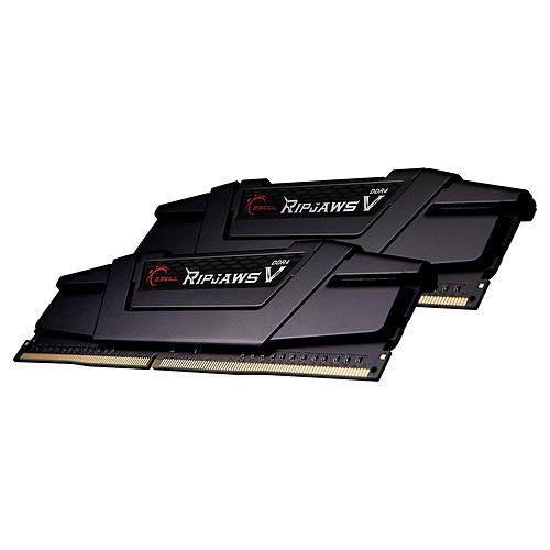 G.Skill RipJaws 5 Series Noir 64 Go (8 x 8 Go) DDR4 3600 MHz CL14 pas cher