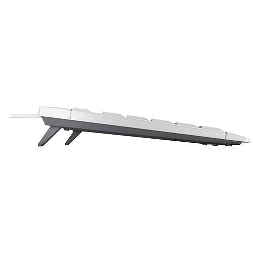Cherry Stream Keyboard (gris) - AZERTY, Français pas cher