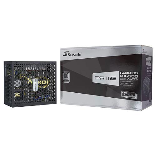 Seasonic PRIME Fanless PX-500 pas cher