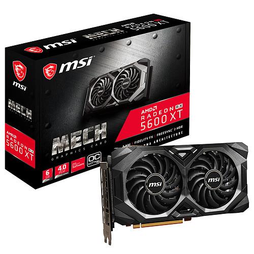 MSI Radeon RX 5600 XT MECH OC pas cher
