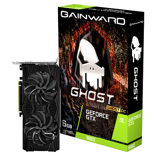 Gainward GeForce GTX 1660 Ghost OC pas cher