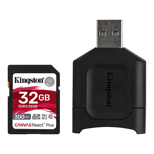 Kingston Canvas React Plus SDCR2/32GB pas cher