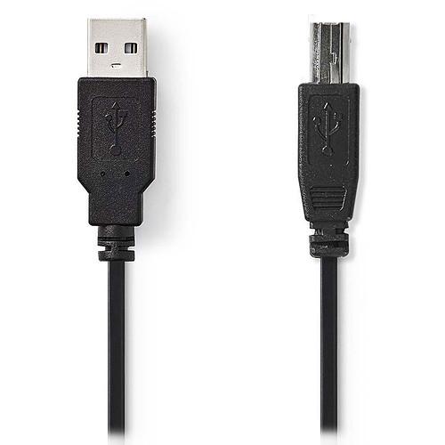 Nedis Câble USB 2.0 A/B - 3 m pas cher