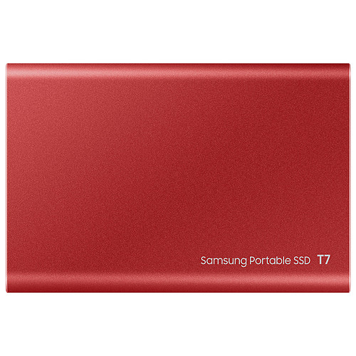 Samsung Portable SSD T7 1 To Rouge pas cher