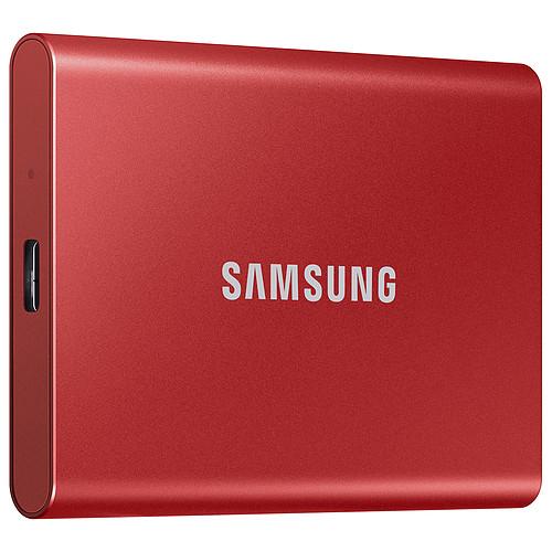 Samsung Portable SSD T7 500 Go Rouge pas cher