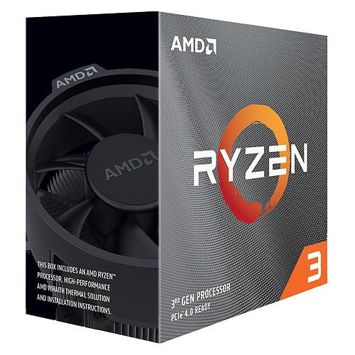 AMD Ryzen 3 3300X Wraith Stealth (3.8 GHz / 4.3 GHz) pas cher