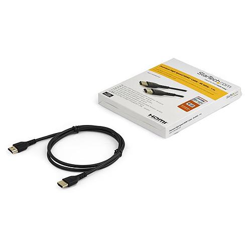 StarTech.com Câble HDMI 4K 60 Hz avec Ethernet - Premium - 1 m pas cher