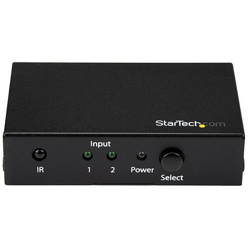 StarTech.com Switch commutateur HDMI 4K 60 Hz à 2 entrées pas cher