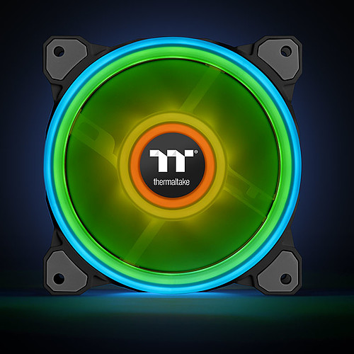 Thermaltake Riing Quad 12 RGB Radiator Fan TT Premium Edition pas cher