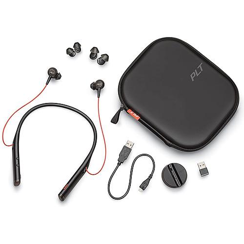 Plantronics Voyager 6200 UC USB-A Noir pas cher