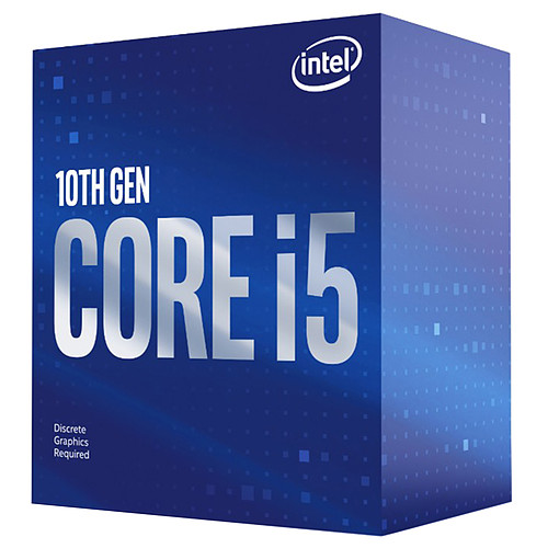Intel Core i5-10400F (2.9 GHz / 4.3 GHz) pas cher
