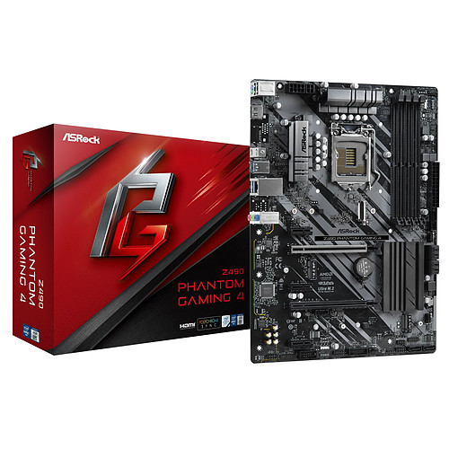 ASRock Z490 Phantom Gaming 4 pas cher