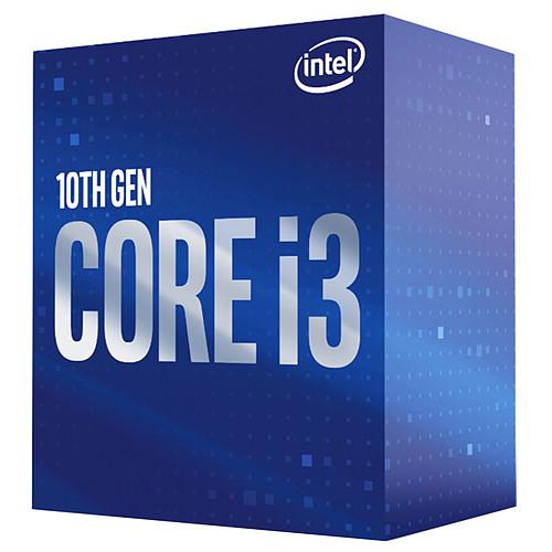 Intel Core i3-10100 (3.6 GHz / 4.3 GHz) pas cher