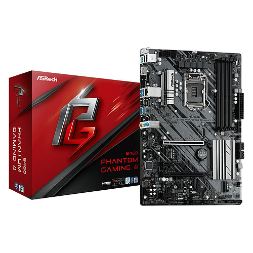 ASRock B460 Phantom Gaming 4 pas cher