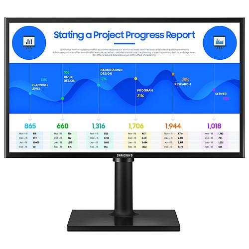 """Samsung 23.5"""" LED - F24T400FHR pas cher"""