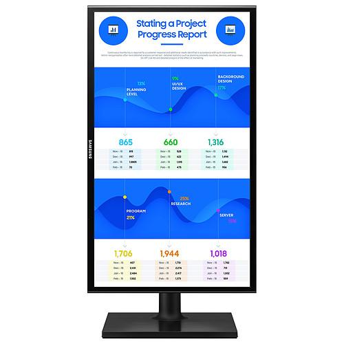"Samsung 23.5"" LED - F24T400FHU pas cher"