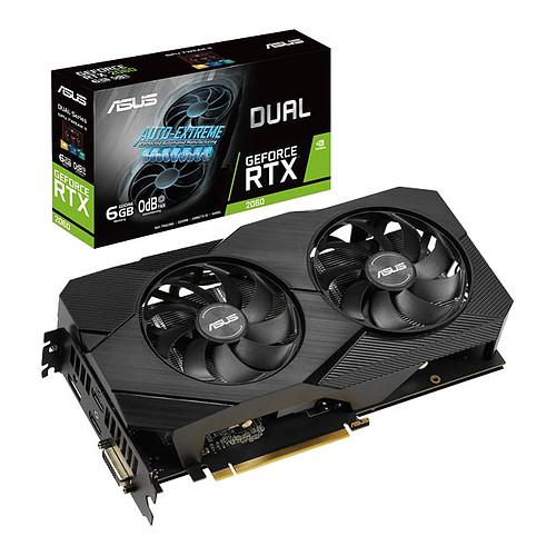 ASUS GeForce RTX 2060 DUAL-RTX2060-O6G-EVO pas cher