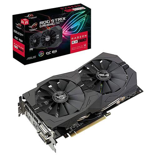 ASUS ROG STRIX AMD Radeon RX 570 O8G Gaming pas cher
