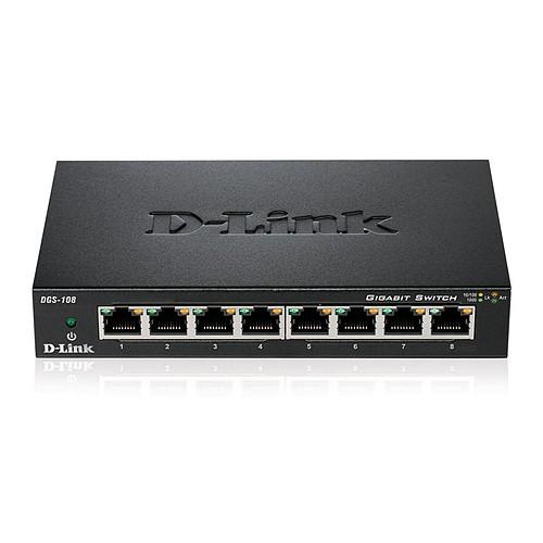 D-Link DGS-108 x2 pas cher