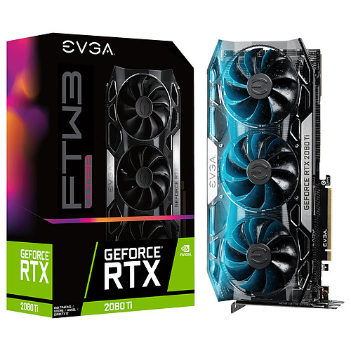EVGA GeForce RTX 2080 Ti FTW3 ULTRA GAMING pas cher