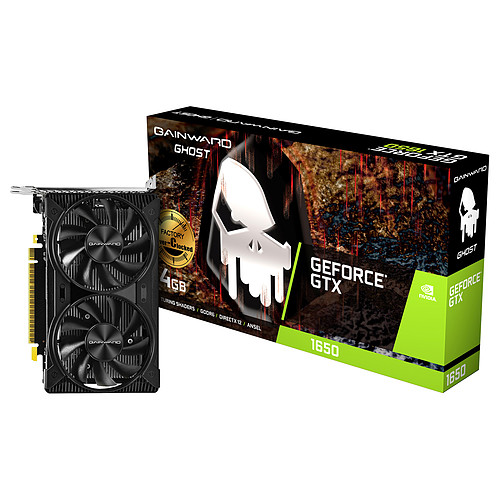 Gainward GeForce GTX 1650 D6 GHOST OC pas cher