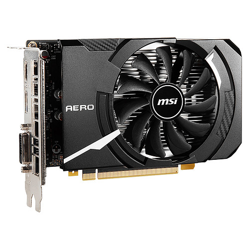 MSI GeForce GTX 1650 D6 AERO ITX OC pas cher