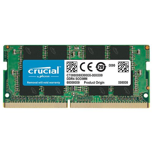 Crucial SO-DIMM DDR4 32Go 3200 MHz CL22 DR X8 pas cher