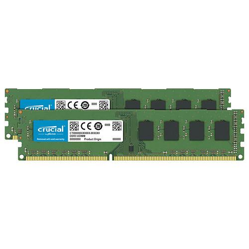 Crucial DDR4 64 Go (2 x 32 Go) 2666 MHz CL19 DR X8 pas cher