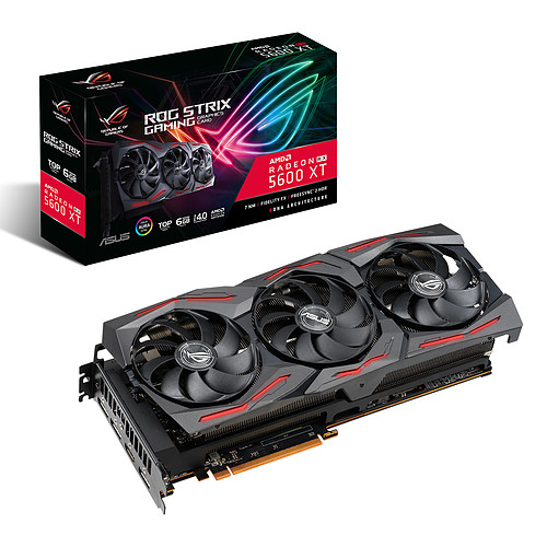 ASUS Radeon RX 5600 XT ROG-STRIX-RX5600XT-T6G-GAMING pas cher