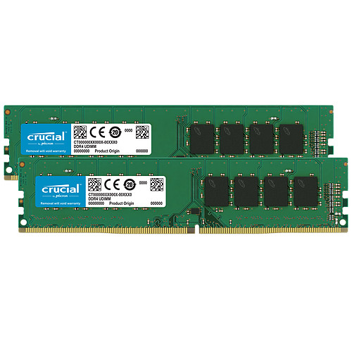 Crucial DDR4 32 Go (2 x 16 Go) 2666 MHz CL19 pas cher