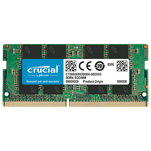 Crucial SO-DIMM DDR4 8 Go 2666 MHz CL19 pas cher
