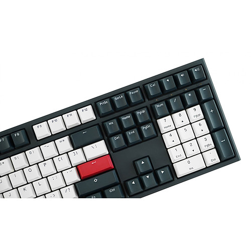 Ducky Channel One 2 Tuxedo (Cherry MX Silent Red) pas cher