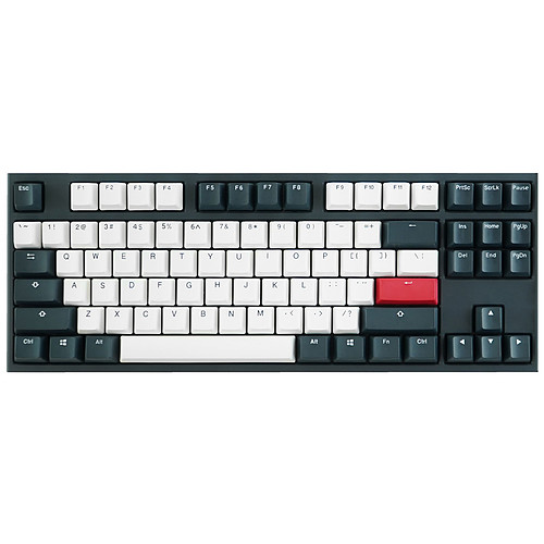 Ducky Channel One 2 Tuxedo TKL (Cherry MX Silent Red) pas cher