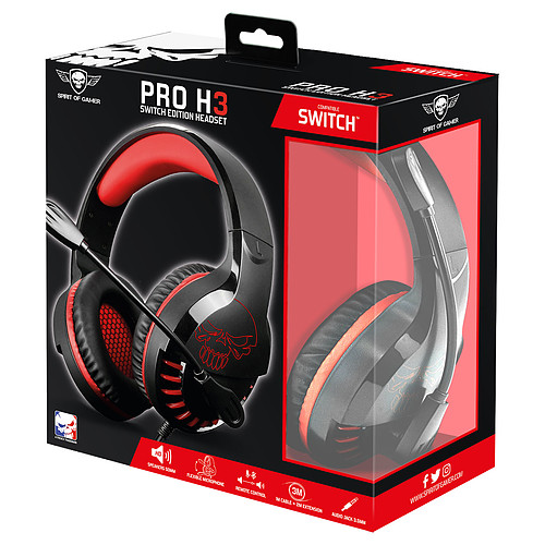 Spirit of Gamer Pro-SH3 Switch Edition pas cher