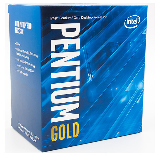 Intel Pentium Gold G6405 (4.1 GHz) pas cher
