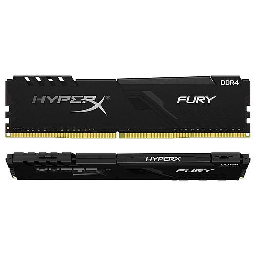 HyperX Fury 64 Go (2 x 32 Go) DDR4 3600 MHz CL18 pas cher